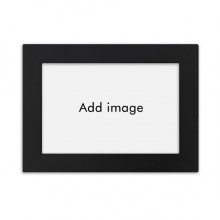 Desktop Photo Frame Black Picture Art Painting 7x9 inch
