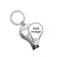 Fingernail Clipper Cutter Opener Key Chain Scissor