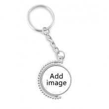 Rotatable Key Chain Ring Keyholder