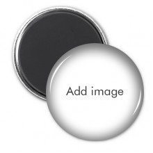 Circle Refrigerator Magnet Badge 3pcs