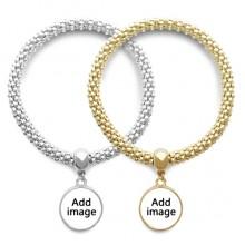 Lover Bracelet Bangle Pendant Jewelry Couple Chain Gift