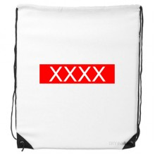 Drawstring Backpack Shopping Gift Sports Bags