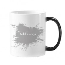 Changing Color Mug Cup Morphing Heat Sensitive  Gift With Handles 350 ml