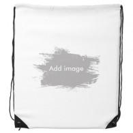 Ink Shape Drawstring Backpack Shopping Handbag Gift Sports Bags