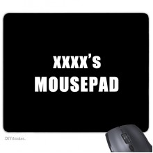 Mouse Pad Non-Slip Rubber Mousepad Game Office
