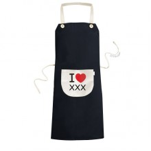 Cooking Kitchen Black Bib Aprons With Pocket for Women Men Chef Gifts