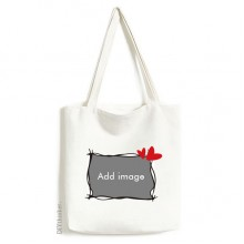 Canvas Bag Environmentally Tote Large Gift Capacity Shopping Bags