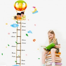 Ballon Height Measure Removable Wall Sticker Art Decals Mural DIY Wallpaper for Room Decal
