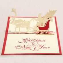 Christmas Elk Card