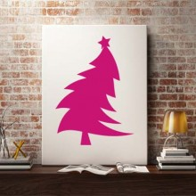Bend Christmas Tree Sticker Removable Wall Sticker Art Decals Mural DIY Wallpaper for Room Decal