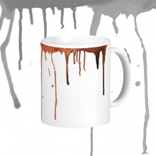 Droping liquid marker mug