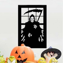Death Sickle Sticker Removable Wall Sticker Art Decals Mural DIY Wallpaper for Room Decal