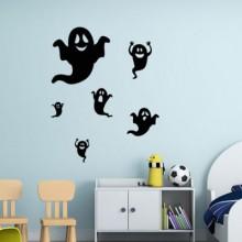 Devils Halloween Sticker Removable Wall Sticker Art Decals Mural DIY Wallpaper for Room Decal