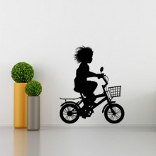 Bike wall stickers Removable Wall Sticker Art Decals Mural DIY Wallpaper for Room Decal