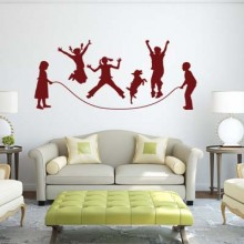 Carnival wall stickers Removable Wall Sticker Art Decals Mural DIY Wallpaper for Room Decal
