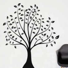 Beautiful Tree Removable Wall Sticker Art Decals Mural DIY Wallpaper for Room Decal
