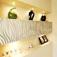 Black Zebra Removable Wall Sticker Art Decals Mural DIY Wallpaper for Room Decal