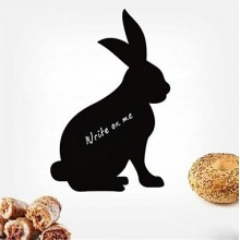 Lovely Rabbits Chalkboard Decal Sticker Home Decoration