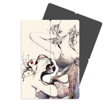 Abstract Boobs Breasts Illustration Refrigerator Magnet Puzzle Home Decal Magnetic Stickers (set of 4)