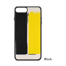 Black Yellow Rectangle Art Decorative Painting iPhone 8/8 Plus Cases iPhonecase Apple iPhone Cover Phone Case Gift