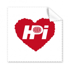 Haidianyuan Logo Red Heart Glasses Cloth Cleaning Cloth Phone Screen Cleaner 5pcs Gift