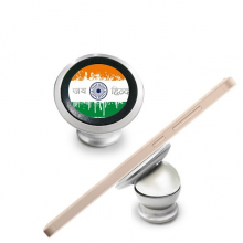 India Flavor India Flag and Holy Wheel Magnetic Phone Mount Car Dashboard Holder Stand 360 Degree Rotation Gift