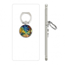 Night Street Colorpainting Paninting Cell Phone Ring Stand Holder Bracket Universal Smartphones Support Gift