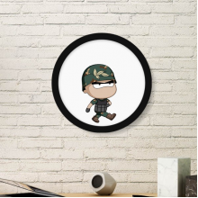 001 Art Painting Picture Photo Wooden Round Frame Home Wall Decor Gift