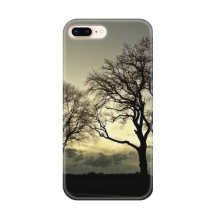 Dark Tree Science Nature Scenery Apple iPhone 7/8 Plus Phone Case Flexible TPU Soft Transparent Cover Gift