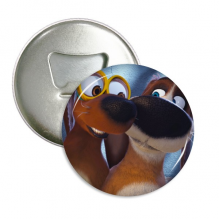 OZZY Happy New Year ozzy couple Round Bottle Opener Refrigerator Magnet Badge Button 3pcs Gift