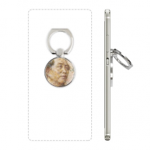XingJianjian Oil Painting Mao Zedong (37) Cell Phone Ring Stand Holder Bracket Universal Smartphones Support Gift
