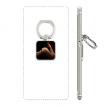 High Heels Briefs Babe Ass Butt Lady Square Cell Phone Ring Stand Holder Bracket Universal Support Gift