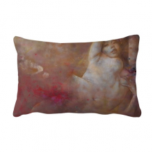 Art Body Nudity XJJ Oil Painting Throw Pillow Lumbar Insert Cushion Cover Home Decoration