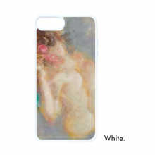 Body Art Nudity Girl XJJ Oil Painting For iPhone 7/8 Plus Cases White Phonecase Apple Cover Case Gift