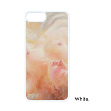 Body Art Peach Nudity XJJ Oil Painting For iPhone 7/8 Plus Cases White Phonecase Apple Cover Case Gift