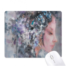 Art Chinese Opera Oil Painting Makeup Mouse Pad Non-Slip Rubber Mousepad Game Office