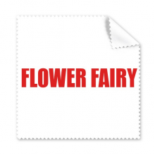 Flower Fairy Flower Red Plant Cleaning Cloth Phone Screen Glasses Cleaner 5pcs