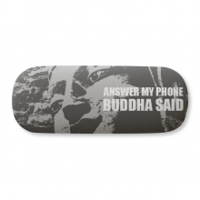 Buddha Said Answer My Phone Glasses Case Eyeglasses Clam Shell Holder Storage Box
