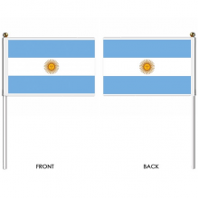 Argentina hand flags