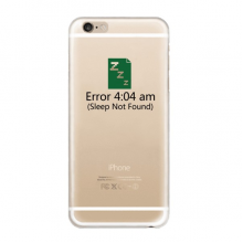 Error 4:04 am iPhone 6s Plus Case