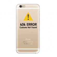 404 Error Symbol iPhone 6s Plus Case