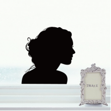 Avatar Silhouette Pattern Decal Wall Sticker