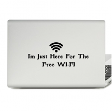 Free Wifi Laptop Sticker