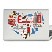 UK England Laptop Skin Sticker