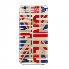 UK Soft Transparent iPhone 6/6s Plus Case