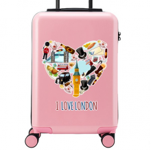 I Love London Suitcase Sticker