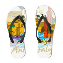 Antalya Illustration Flip Flops