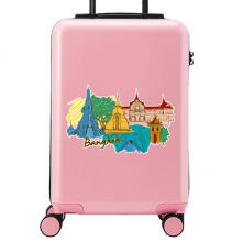 Bangkok Illustration Suitcase Sticker