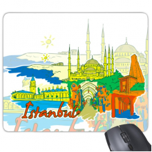 Istanbul Illustration Mouse Pad