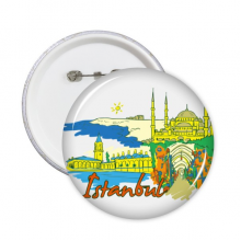 Istanbul Illustration Badge